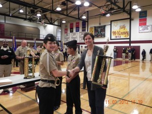 Bloom Trail Navy JROTC cadets finish third in drill meet