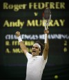 Federer beats Murray for 7th Wimbledon, 17th major