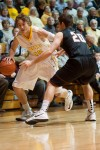 Valparaiso University senior forward Ryan Broekhoff