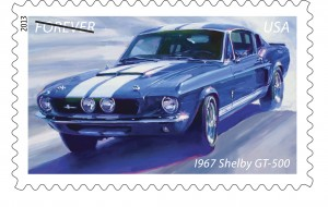 The Muscle Car Forever Stamps: Why the autos of youth never truly die