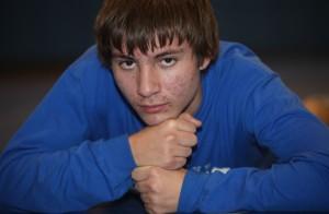 Boone Grove's Andrew Vannatter wrestles with autism