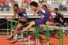 Gary West Side senior runner Deante Mahome and Merrillville junior runner Austin Jamerson