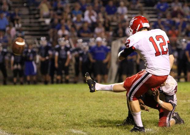 Mustangs hang on, give L.C. the boot