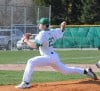 Valparaiso pitcher Jerrick Suiter delivers against Crown Point 