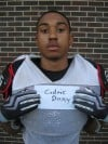 Thornwood football player Cedric Doxy