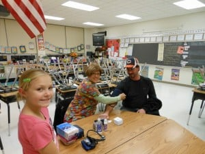 "Coolidge School ""Fuels-Up"" during Cougar Fitness Camp"