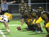Marian Catholic offensive line vs. Carmel Catholic