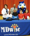 MDwise donates backpacks with school supplies to Harding students