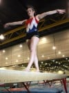 Boone Grove gymnast Valerie Strickland 