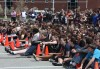 Mock crash; sobering message