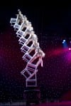 "Chair Stack Act at ""Cirque Shanghai: Year of the Dragon"""