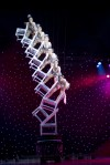 Chair Stack Act at &quot;Cirque Shanghai Year of the Dragon&quot;