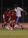 Crown Point battles Lake Central in the Class 2A Merrillville Soccer Regional