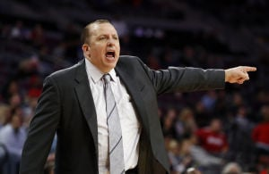 AL HAMNIK: Thibodeau to keep foot on the pedal