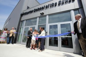 Charter School of the Dunes celebrates new building