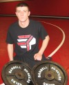 Portage wrestler Roach only knows one speed