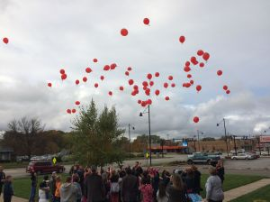 Myers students help kick off annual Red Ribbon Campaign