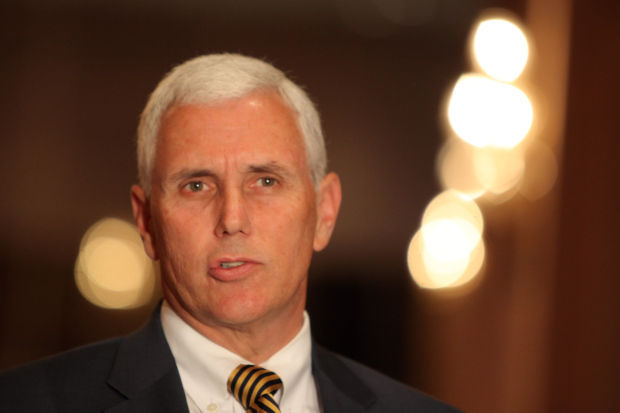 AUDIO: Gov. Pence discusses the 2014 legislative session