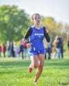 Bloom's Gina Narcisi sprints to the finish