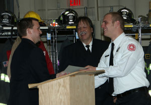 17 Fire Academy graduates honored in Griffith ceremony