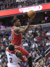 Wall leads Wizards over Bulls