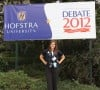 Valpo High grad is volunteer photogrqapher at presidential debate