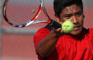 Portage's Fannin adjust to life at No. 1 singles