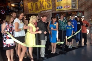 Jak's Warehouse celebrates with ribbon cutting ceremony
