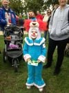 Bozo the Clown Costume Contestant Featured at 2013 Brookfield Zoo Boo at the Zoo! Halloween Costume on Saturday, Oct. 19, 2013