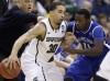 Top-seeded Michigan St holds off Saint Louis