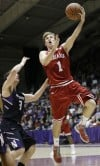 Zeller leads Indiana past Northwestern 67-59