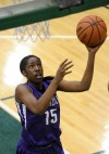 Merrillville's Victoria Gaines shoots a layup against Warsaw on Saturday night.