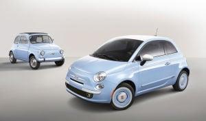 FIAT ups the retro factor: Special 1957 Edition gives car a classic Italian makeover