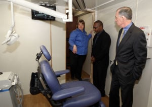 Officials dedicate new mobile health center
