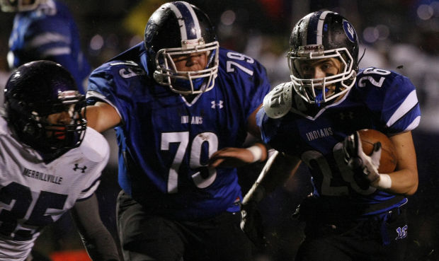 Prep football, Class 6A Sectional 1, Merrillville at Lake Central