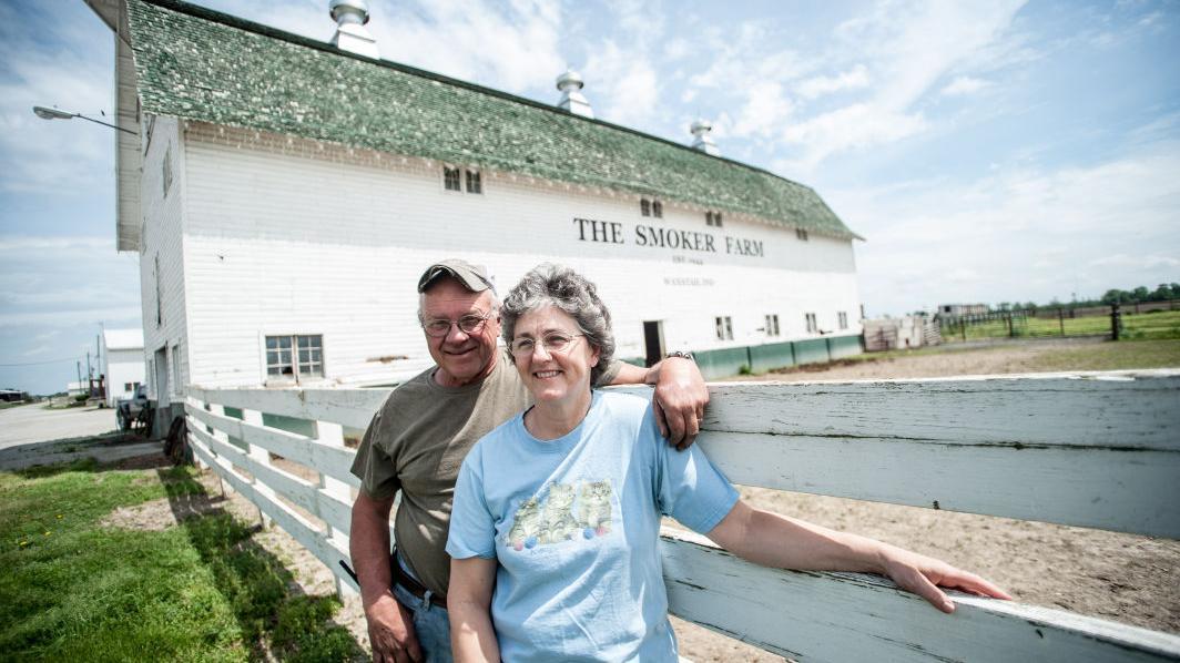 Landmark laporte county barn at center of thriving family for Laporte newspaper