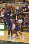 Merrillville's Jairus Stevens pulls down a rebound in the Class 4A Valparaiso Sectional on Wednesday.