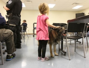 Lake Station award winning K-9 retires reluctantly