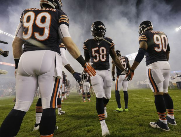 AL HAMNIK: It's time for the Bears' D.J. Williams to pony up