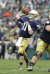 Notre Dame quarterback Tommy Rees