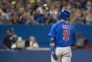 Cubs ready for day off after 11-1 loss to Toronto