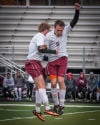 T.F. United's Jeremy Celmer, right, and Ray Kobus celebrate a goal in the second half Saturday.