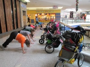 Fitness tips for new moms