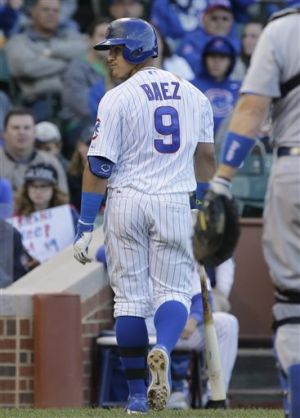 Cubs' rally falls short in loss to Dodgers