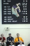 Hobart diver Juan Marcano placed third at the LaPorte Sectional on Saturday. He qualified for Tuesday's Penn Regional.