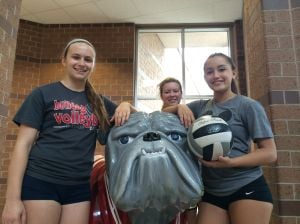 Crown Point seniors roam back row with ease