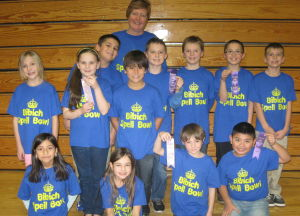 Bibich Spell Bowl team places fifth in state