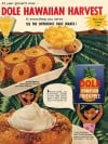 Vintage Dole Pineapple Advertisement 1957