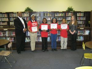 Lansing school honors its February Excellence Award winners