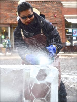 Big Freeze: Competitive ice carving in a world of its own